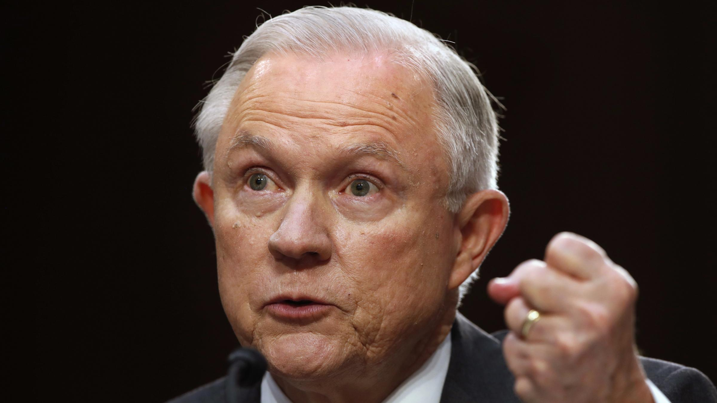 Sessions vigorously denies improper Russian Federation  contacts